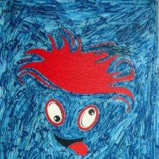 Arte: OLEO SOBRE TABLA-CARA. Lote 41135155