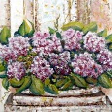Arte: JARDINERA CON FLORES. Lote 41230301