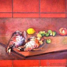 Art - escuela catalana al óleo sobre tabla.Circulo Durancamps.Anónimo.muy buen trazo. - 41253534