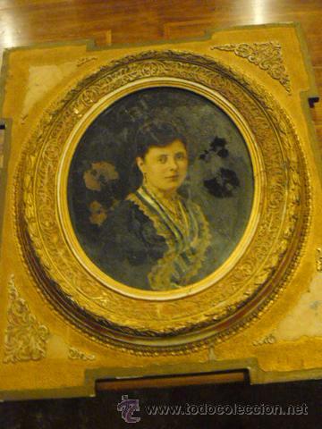 FOTOGRAFIA PINTADA AL OLEO (Arte - Pintura - Pintura al Óleo Antigua sin fecha definida)