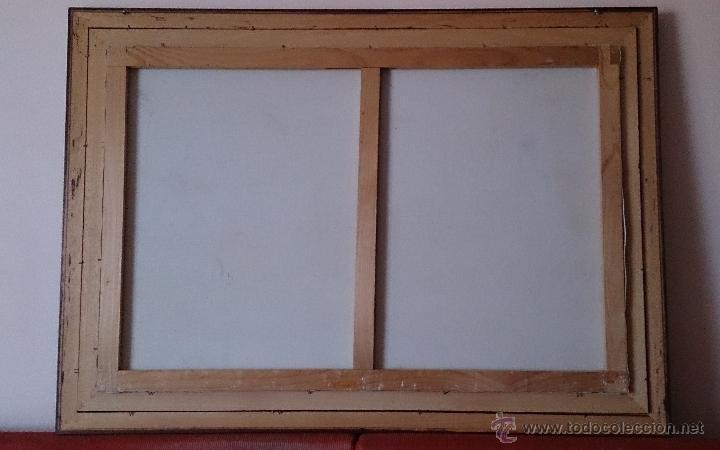 Arte: Antiguo cuadro de oleo sobre tela ( casa en el bosque ), firmado por el autor . - Foto 15 - 41311542