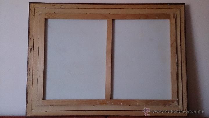 Arte: Antiguo cuadro de oleo sobre tela ( casa en el bosque ), firmado por el autor . - Foto 16 - 41311542