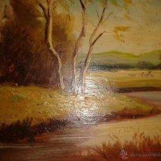 Arte: PINTURA AL ÓLEO SOBRE TABLEX. FIRMADA SOLER.. Lote 41337817