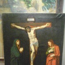 Arte: GRAN CALVARIO DE ESCUELA VALENCIANA DEL S.XIX. Lote 41396569
