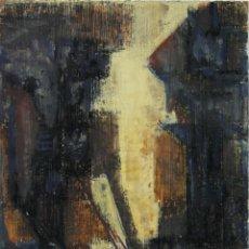 Art: O2-006 - JAIME BARTOLOMÉ BALBAS (1927) - VISTA URBANA - OLEO/TABLA - 16 * 22.5 CM.. Lote 41399631