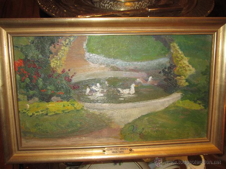óleo sobre tabla de césar fernández ardavin - p - Comprar Pintura al ...