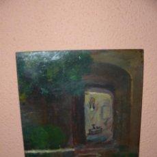 Arte: OLEO / TABLEX - ROS I GUELL - INTERIOR. Lote 41639885