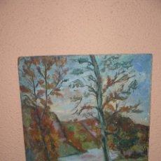 Arte: OLEO / TABLEX - ANÓNIMO - PAISAJE. Lote 41640496