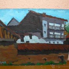 Arte: OLEO / TABLEX - PUJOL - CASERIO. Lote 41640724