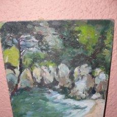 Arte: OLEO / TABLILLA ENTELADA - ANÓNIMO - PAISAJE 6. Lote 41780128