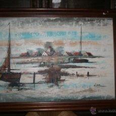 Arte: LIENZO ENMARCADO FIRMADO STERK REF.5631. Lote 41936473