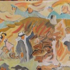 Arte: GÉNESIS.-DESTRUCCIÓN DE SODOMA Y GOMORRA DE CRESPO. Lote 42040002
