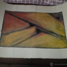 Arte: PINTURA ABSTRACTA FIRMADA Y FECHADA. Lote 42108723