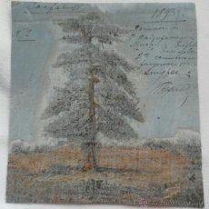 Arte: PINTURA RUSA. FECHADA Y FIRMADA EN 1893. Lote 42184288