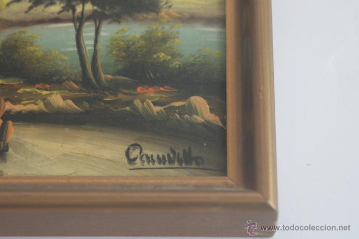 Arte: BONITO LOTE DE 5 CUADROS PEQUEÑOS - Foto 3 - 42276198