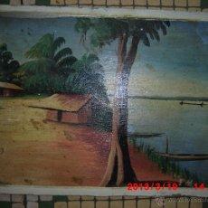 Arte: OLEO SOBRE TABLA FIRMADO MEDIADOS SIGLO. Lote 42361645