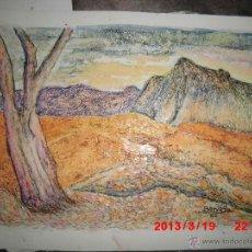 Arte: OLEO ORIGINAL PAISAJE FIRMADO BARRASA PINTOR DE ALICANTE. Lote 42372764