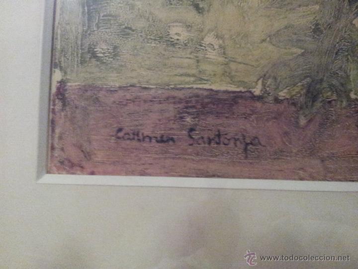 Arte: Carmen Santonja oleo especial muy pocos - Foto 2 - 42375383