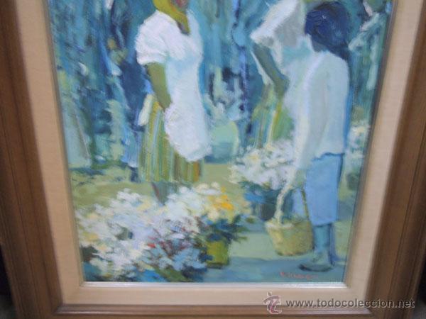 Arte: OLIVER - ÓLEO SOBRE TELA DE FRANCESC OLIVER FRADERA , FIRMADO - Foto 4 - 42563332