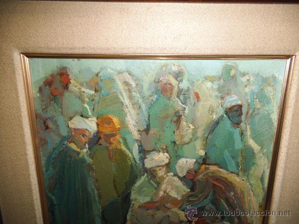 Arte: OLIVER - ÓLEO SOBRE TABLA DE FRANCESC OLIVER FRADERA , FIRMADO - Foto 3 - 42563398