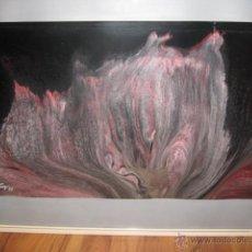 Arte: HEINRICH FRANGER - ABSTRACTO SOBRE CARTÓN - FIRMADO Y FECHADO 1971 MEDIDA 59 X 37 CM. OTROARTE. Lote 42670333