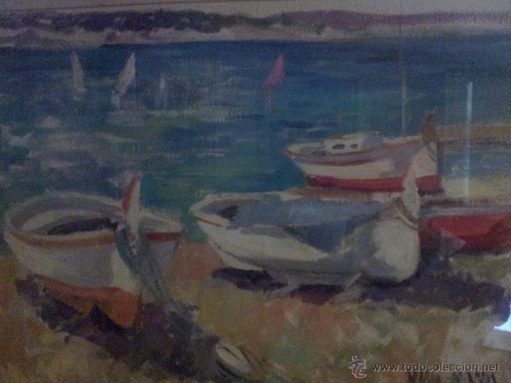 OLEO DE LA PINTORA CATALANA MERCÉ MASSA (Arte - Pintura - Pintura al Óleo Contemporánea )