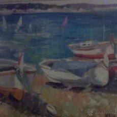 Arte: OLEO DE LA PINTORA CATALANA MERCÉ MASSA. Lote 42696188