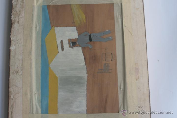 Arte: MUCHACHA CON MANTÓN. ÓLEO SOBRE TABLA - Foto 8 - 42751781