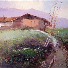 Arte: BONITO PAISAJE PINTADO AL OLEO, AUTOR JORDI MOREY. Lote 37393838
