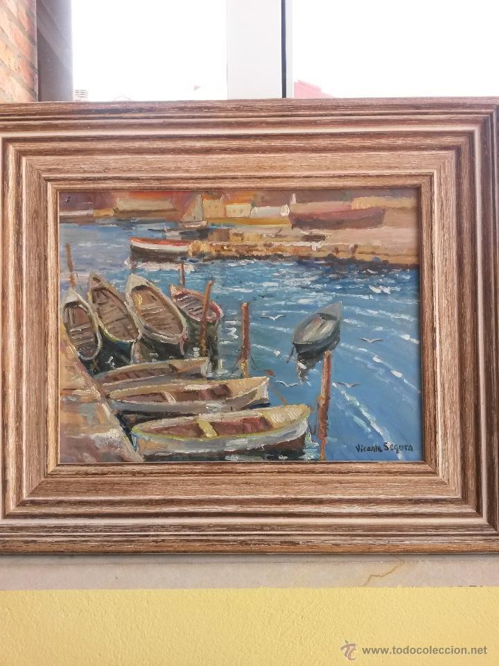 pintura al oleo sobre tablex de vicente segura - Comprar Pintura al ...