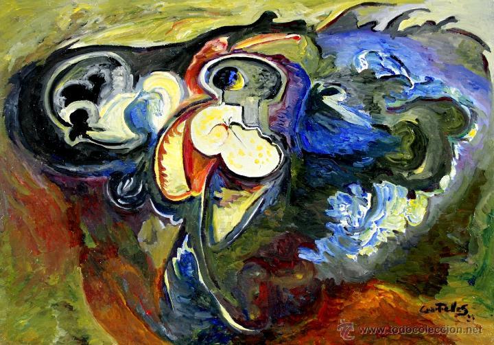 Rafael cuartielles bodeg n leo sobre lienzo comprar pintura al leo contempor nea en - Enmarcar lienzo ...