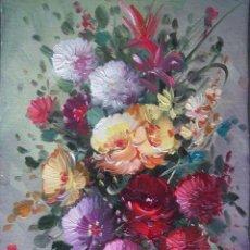 Arte: FLORES - P. LLISPO. Lote 43005247