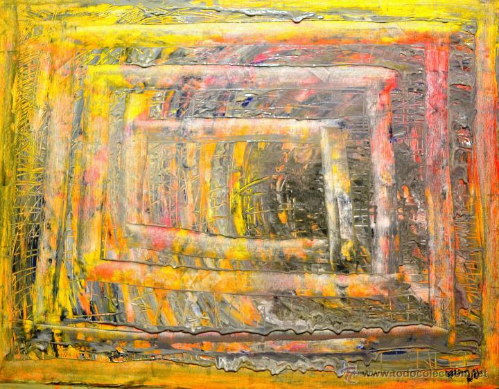 PINTURA AL ÓLEO ( AXEL RODRÍGUEZ) 80 X 60 CM (Arte - Pintura Directa del Autor)