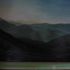 Arte: PINTURA OLEO - A. NIETO, ESCOCIA - 65,5 X 81,4 + 78,3 X 91 - ENMARCADO. (COLECCIÓN PARTICULAR) *. Lote 43067322