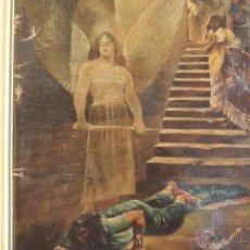 Arte: ESCENA HISTÓRICA. ÓLEO SOBRE LIENZO. S. XIX. Lote 43067625