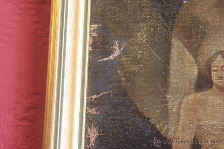 Arte: ESCENA HISTÓRICA. ÓLEO SOBRE LIENZO. S. XIX - Foto 7 - 43067625