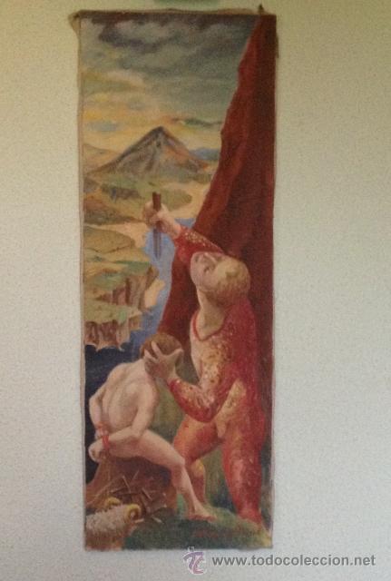 Arte: ÓLEO DEL ARTISTA A. ALONSO CAÑEDO 1986 - Foto 2 - 43078421