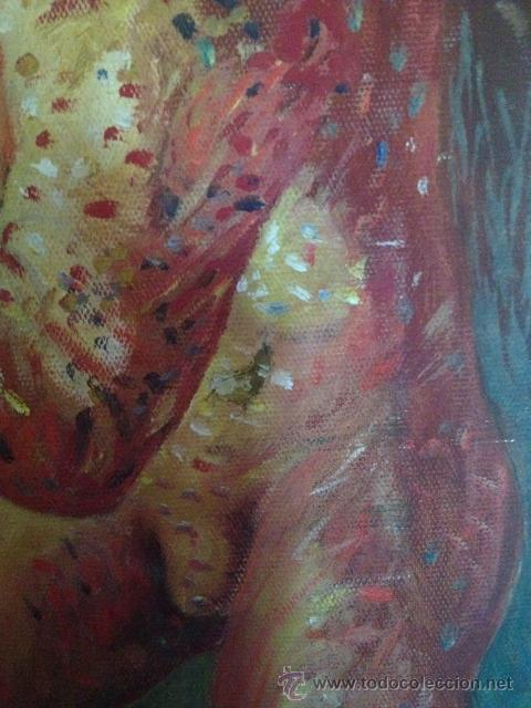 Arte: ÓLEO DEL ARTISTA A. ALONSO CAÑEDO 1986 - Foto 7 - 43078421