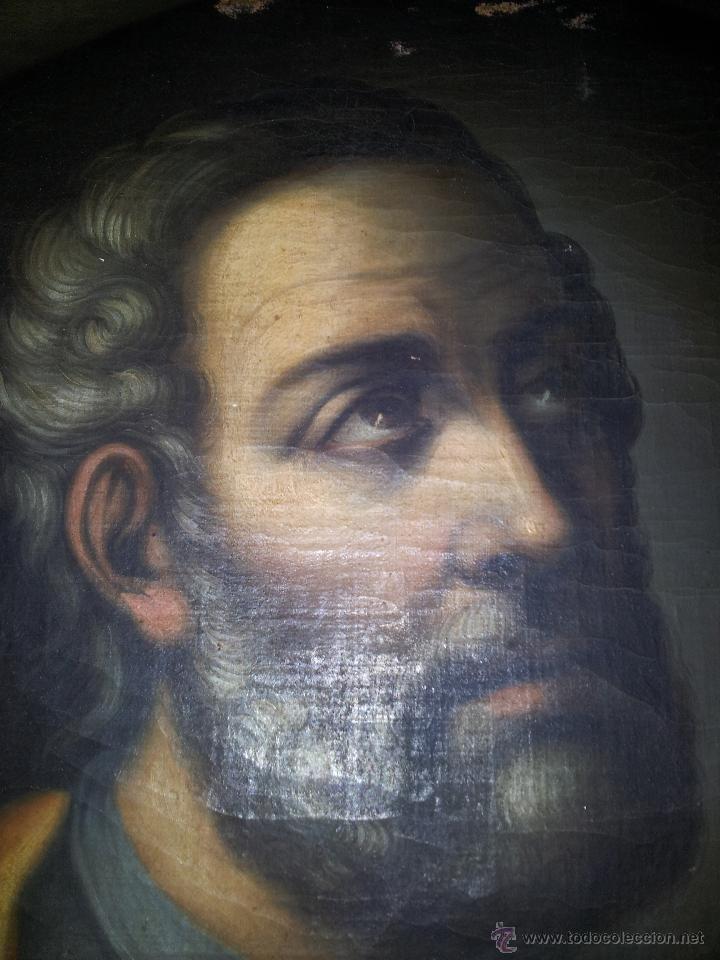 Arte: OBRA OLEO LIENZO APOSTOL SAN JUDAS TADEO 7° SIGLO XVIII PINTURA BARROCO AUTOR DESCONOCIDO pintor - Foto 2 - 51622624