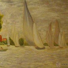 Arte - Pintura óleo sobre lienzo 65 x 46 - 43104895