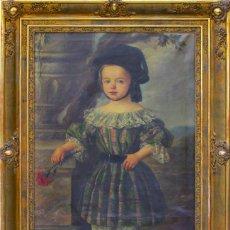 Arte: OLEO REALIZADO POR EL PINTOR GOMEZ Y CROS ANTONIO 1808- 1863. Lote 43129459