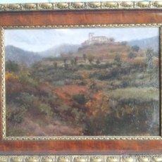 Arte: AURELIO TOLOSA ALSINA (1861-1938). OLEO SOBRE CARTÓN. Lote 43190186