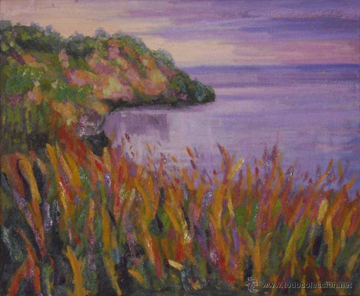 MARINA (Arte - Pintura Directa del Autor)