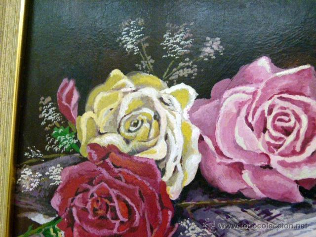 Arte: Pintura al oleo firmada - Foto 2 - 43380164