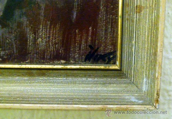 Arte: Pintura al oleo firmada - Foto 4 - 43380164