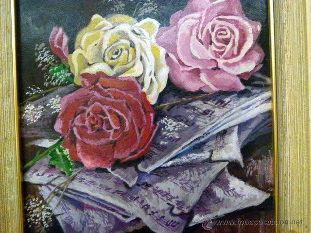 Arte: Pintura al oleo firmada - Foto 5 - 43380164