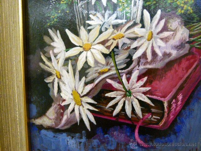 Arte: Pintura al oleo firmada - Foto 3 - 43380169