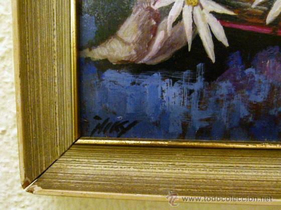 Arte: Pintura al oleo firmada - Foto 4 - 43380169