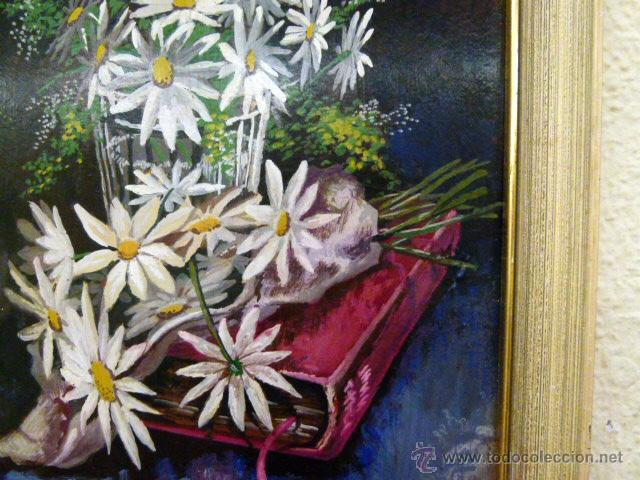 Arte: Pintura al oleo firmada - Foto 5 - 43380169