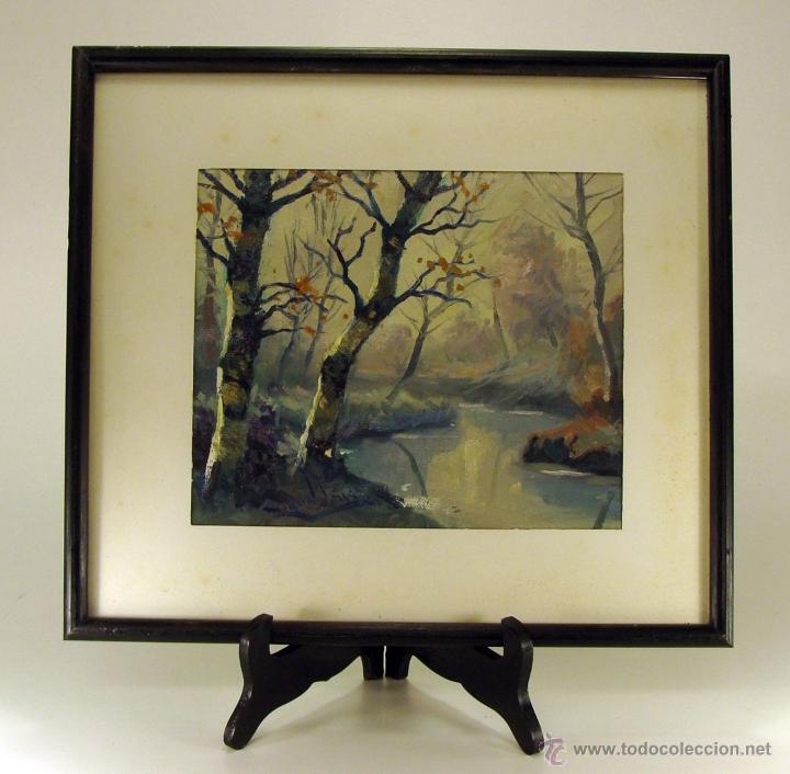 oleo sobre tela (sin bastidor) firmado ``miguel - Comprar Pintura al ...